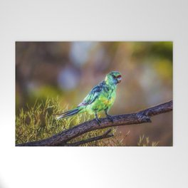 Mallee Ringneck Parrot Welcome Mat