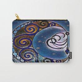 Moon swirl dreamcatcher Carry-All Pouch