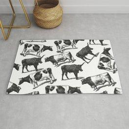 Cows, Cows Everywhere Rug