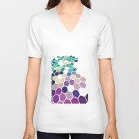alabama V-neck T-shirts featuring Alabama by Bakmann Art