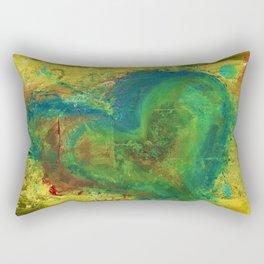 Stress Fracture Rectangular Pillow