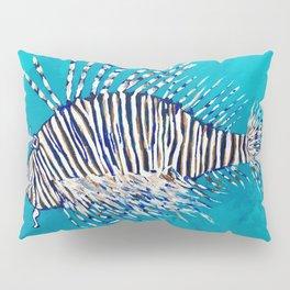 Lion Fish 3, a pretty predator & invasive species Pillow Sham