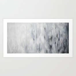 Soir d'hiver Art Print
