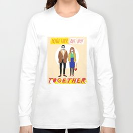 Together but not together Long Sleeve T-shirt