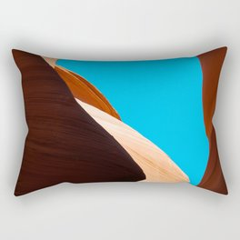 Curves of the Valley Rectangular Pillow