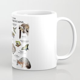 Animals of the Adirondacks Coffee Mug