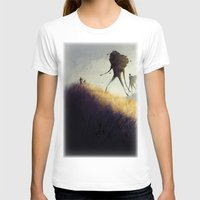 giants T-shirts featuring The Earth Giants by Bess A. Yontz