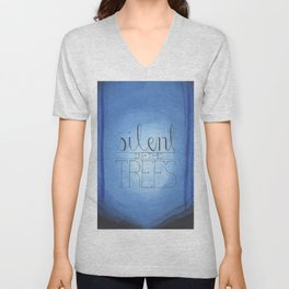 Silent in the Trees Unisex V-Neck