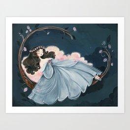 Sleeping Beauty Illustration Art Print