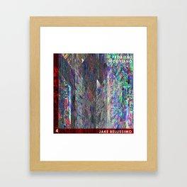 Jake Bellissimo - Problems for Piano - Track 4 Framed Art Print
