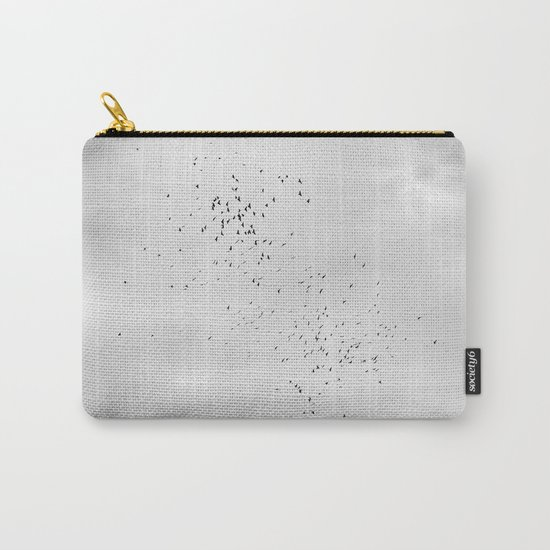 """Sky and birds"". Study IV Carry-All Pouch"