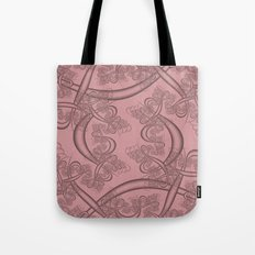 Blush Fractal Tote Bag