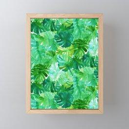 Welcome to the Jungle Palm Framed Mini Art Print