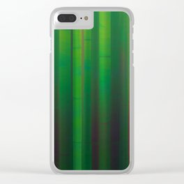 Bamboos Clear iPhone Case