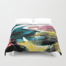 Abstract Artwork Colourful #3 Duvet Cover