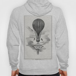 Mr Cockings parachute from a system of aeronautics (1850) by John Wise (1808-1879) Hoody