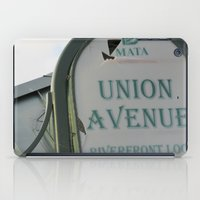 memphis iPad Cases featuring Untitled, Memphis by Anna Baglione