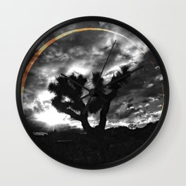 Sacred Joshua Tree — Icons & Relics. Wall Clock