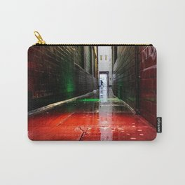 London street red green Carry-All Pouch