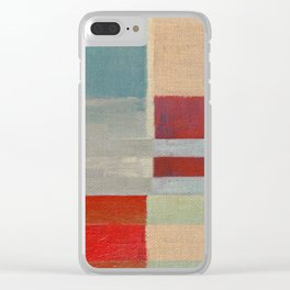 Parallel Bars 1 Clear iPhone Case