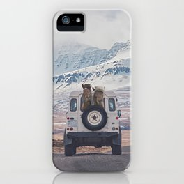 NEVER STOP EXPLORING ICELAND iPhone Case