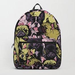 Social French Bulldog Backpack