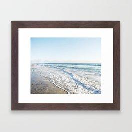 San Diego Waves Framed Art Print