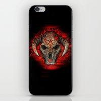 diablo iPhone & iPod Skins featuring Diablo by Digital Dreams
