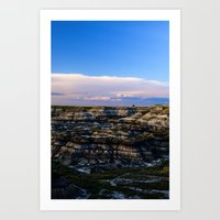 Horseshoe Canyon - Alberta  Art Print