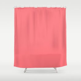 Summer Tropical Coral Shower Curtain