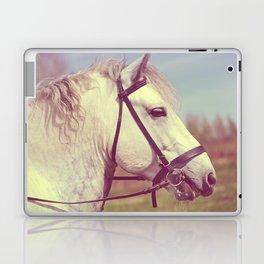 Percheron Horse Portrait  Laptop & iPad Skin