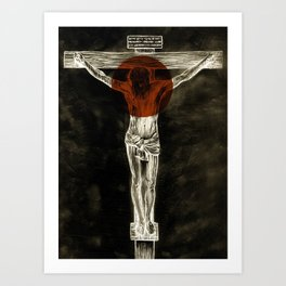 Behold the Lamb of God Art Print