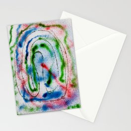Paintball Blow Pins Stationery Cards