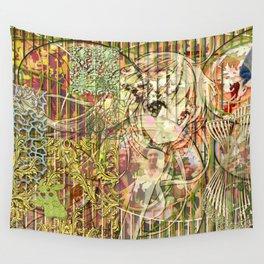 Jeune fille de joie usine (Factory girl joy) Wall Tapestry