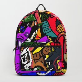 The Devil had Spaketh the Revelation Backpack