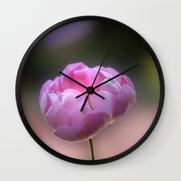 I am Pink Wall Clock