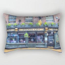 The Golden Lion Pub York Rectangular Pillow