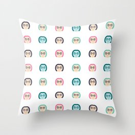 Enid Coleslaw Throw Pillow