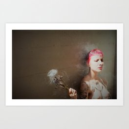 You Looked That Way In The Water Too Art Print