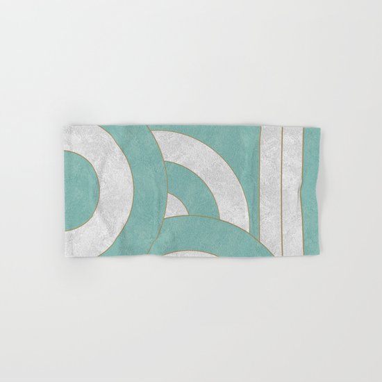 Geometric Marble 04 Hand & Bath Towel