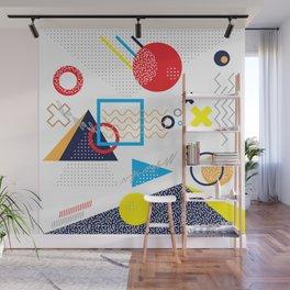 Memphis Pattern Wall Mural