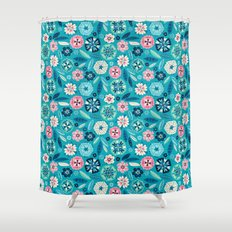 Flower Pop Shower Curtain