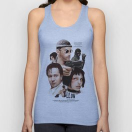 Leon: The Professional Unisex Tank Top