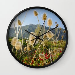 Meadow of Sicilian Spring Wall Clock