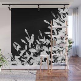 Foliage Series no1 black Wall Mural