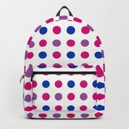 65 MCMLXV LGBT Bisexual Pride Polka Dot Pattern Backpack