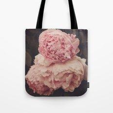 Pink Peony Trio Tote Bag