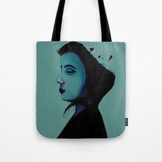 Night Girl Tote Bag
