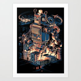 Night of the Toy Art Print