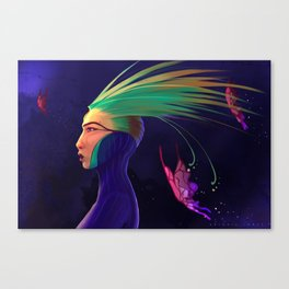Peacocke Canvas Print